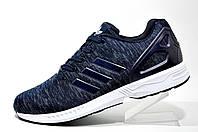 Кроссовки мужские Adidas ZX Flux Weave, Dark Blue\White