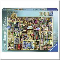 """Пазл """"Причудливый книжный магазин №2"""" 1000 элементов, Ravensburger"""
