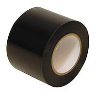 Изолента ПВХ — черная 50 мм x 20 м