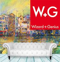 Фотошпалери Wizard+Genius