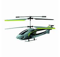 Вертолет радиоуправляемый Auldey - NAVIGATOR круиз-контроль (зелёный, 20 см, с гироскопом, 3 канала)