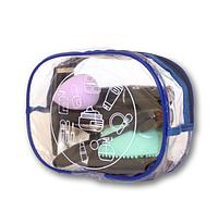 Прозрачная косметичка для бассейна/сауны/путешествий