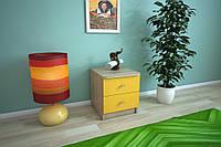Тумба  прикроватная с 2 ящиками, мебель для гостиниц