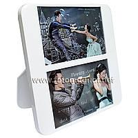 Мультирамка-коллаж пластиковый настольный  (рамки для фотографий на стену) .2/16х10 см./