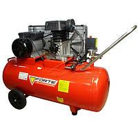 Компрессор ZA 65-100 - 8 атм. 2,2 кВт, вход: 335 л/мин, ресивер 100 л. FORTE