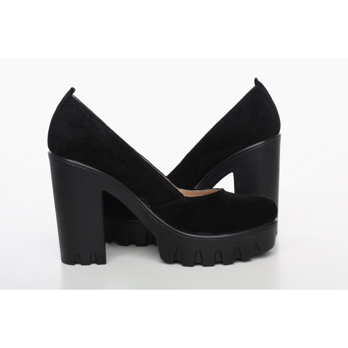 4a2840acd09d Замшевые туфли черные 818-13CH 40 размера
