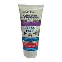 Средство для снятия макияжа 3 в 1, Сlean Face, Belle Jardin