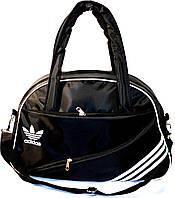 Спортивная сумка Adidas (черный с белым), фото 1