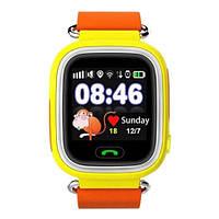 Детские умные часы с GPS Smart Baby Watch TD-02 (Q100) Orange