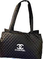 Сумки женские стеганные Chanel (ЧЕРНЫЙ)