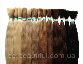 Натуральные волосы в срезах, длина 55-60 см