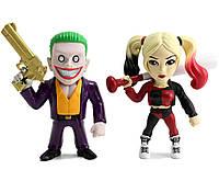 Джокер и Харли Квин набор железных фигурок из фильма Отряд самоубийц / Joker&Harley Suicide Squad Metals JADA