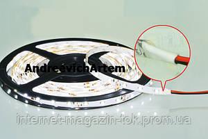 Яркая светодиодная лента, белая, в силиконе! 3528 smd, 300 Led - белая! 5 метров! LED лента!, Акция