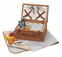Корзина для пикника + одеяло