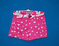 Джинсовые шорты Eleysa 6530-2 для девочки 6-10 лет