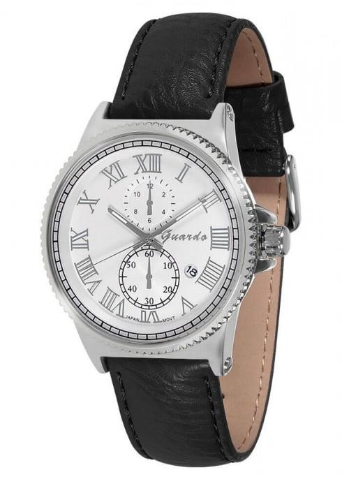 Чоловічі наручні годинники Guardo 10421 SWB