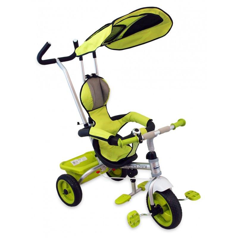 """Трехколесный велосипед с капюшоном и родительской ручкой """"Baby mix"""""""
