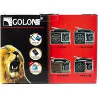 Переносной радиоприемник GOLON RX 98UAR, радио USB/SD MP3/WMA PLAYER