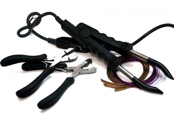 купить материалы и инструменты для наращивания волос