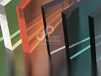 Монолитный поликарбонат Monogal, бронза, 2 мм
