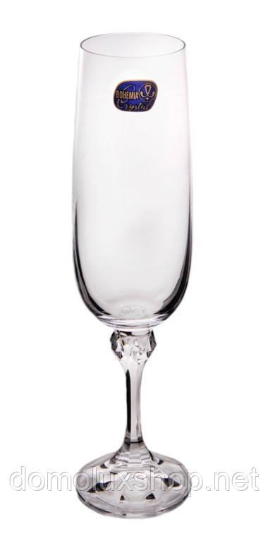 Bohemia Julia Набор бокалов для шампанского 6*180 мл (40428)