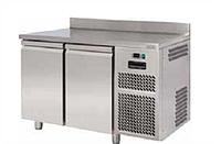 Холодильный стол ECT702AL FREEZERLINE (2х дверный, с бортиком)
