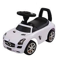 Машинка каталка-толокар Mercedes Sun Baby, с музыкальной панелью