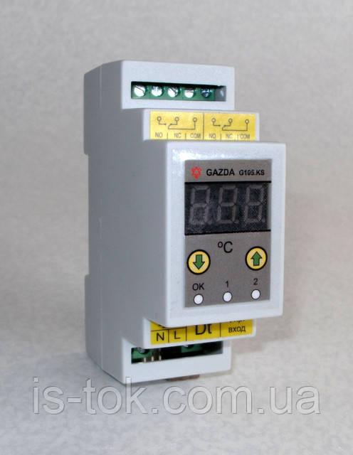 Новый терморегулятор GAZDA G105…