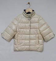 Куртка Monnalisa для дівчинки р128-152 кремовий