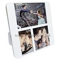 Мультирамка-коллаж пластиковый настольный  (рамки для фотографий на стену) 1/16х10cм.1/6х10см.1/10х10см.