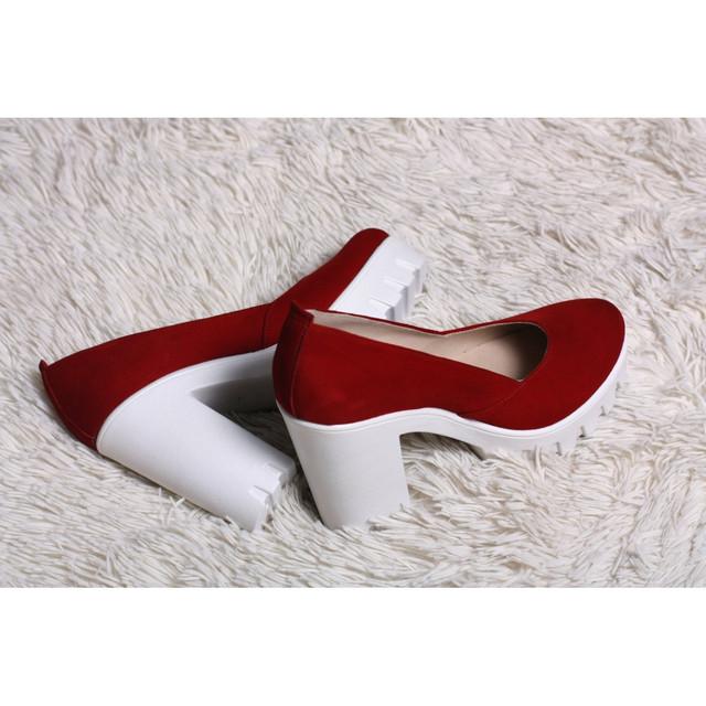 303b43a93347 Замшевые туфли красные 818-13K, цена 1 115 грн., купить в Киеве ...