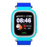 Детские умные часы с GPS Smart Baby Watch TD-02 (Q100) Blue