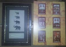 "Ключница  настенная ""Слоны семейство"", фото 3"