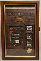 """Ключница  настенная, деревянная """"Fish Shop"""", фото 2"""