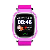 Детские умные часы с GPS Smart Baby Watch TD-02 (Q100) Pink
