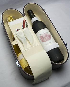Винный дорожный набор на 2 бутылки, Одесса, фото 2