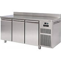 Холодильный стол ECT703AL FREEZERLINE (3х дверный, с бортиком)