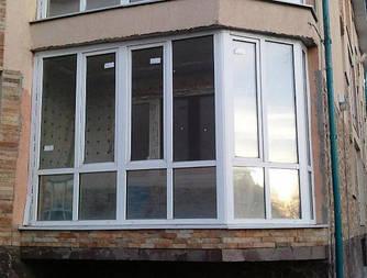 Теплое остекления, закрытые балконы, работа под ключ, Одесса