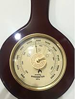 Барометр механический бытовой,настенный домашняя метеостанция., фото 2
