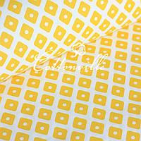 Польская бязь Ромбики желтые, фото 1