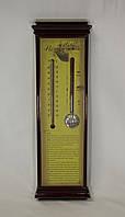 Термометр и индикатор погоды бытовой