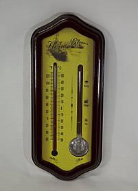 Термометр и индикатор погоды бытовой, штормгласс, Storm glass, (12627)