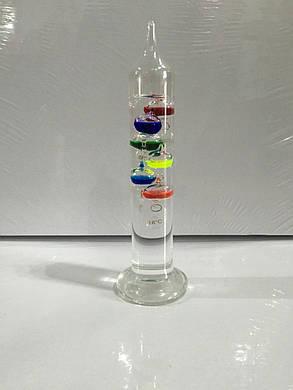 Термометр Галилея настольный, фото 2