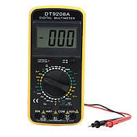 Профессиональный цифровой мультиметр тестер DT-9207А/9208А Качество! + щупы + термопара + крона!, Акция