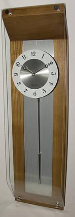 Настенные кварцевые часы, с маятником, деревянные, фото 2