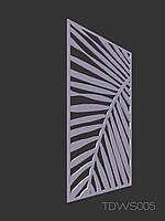 Декоративна перегородка TDWS005 / ажурна ширма / перфорована панель