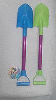 Детская лопатка большая два цвета