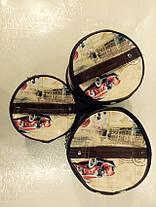 Набор 3 косметичек круглый, фото 3