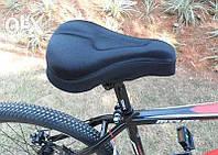 Чехол силиконовый накладка на седло подушка чохол гелевий на сідушку