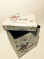 """Пуфик складной коробка """"Роза"""", фото 2"""